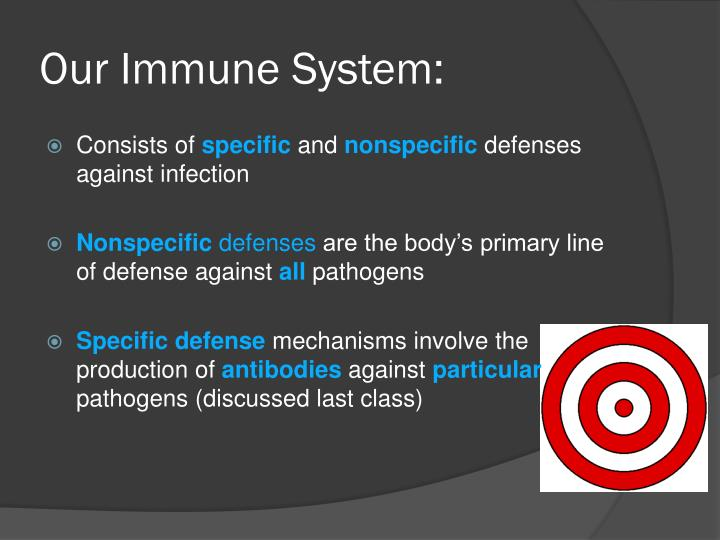 Our Immune System: