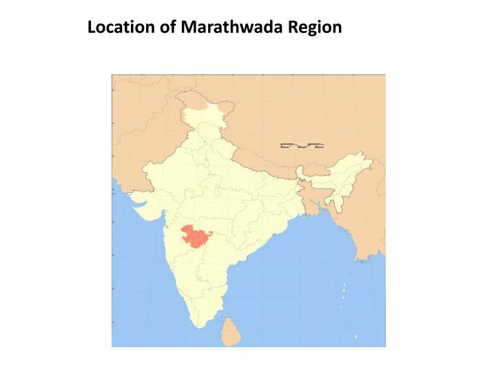 Location of Marathwada Region