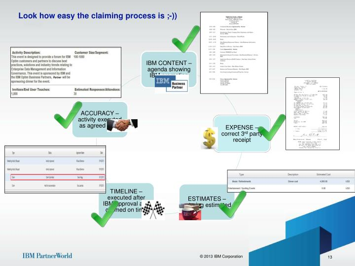 Look how easy the claiming process is ;-))