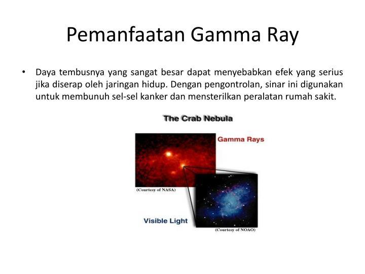 Pemanfaatan Gamma Ray
