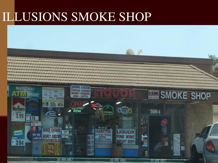 ILLUSIONS SMOKE SHOP