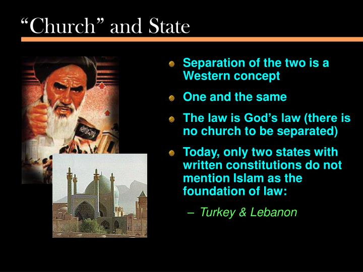 """""""Church"""" and State"""
