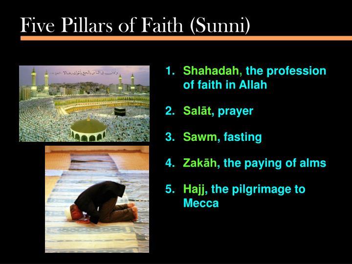 Five Pillars of Faith (Sunni)