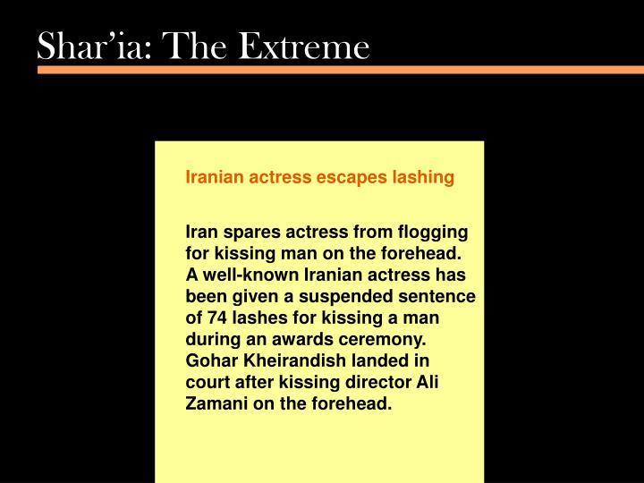 Shar'ia: The Extreme