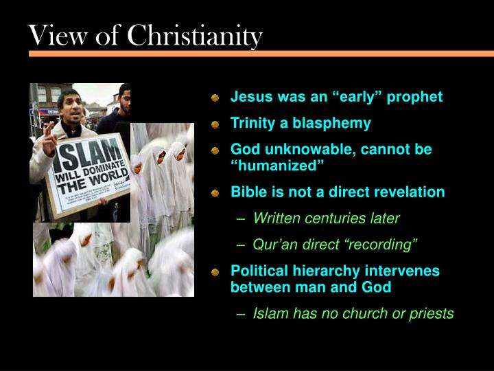 View of Christianity