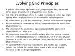 evolving grid principles