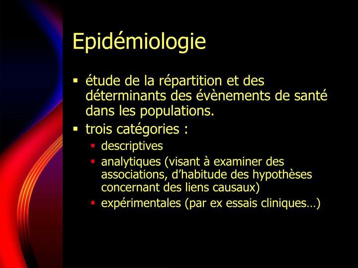 Epid miologie1