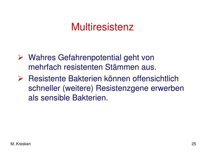 Multiresistenz