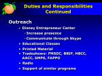 duties and responsibilities continued1