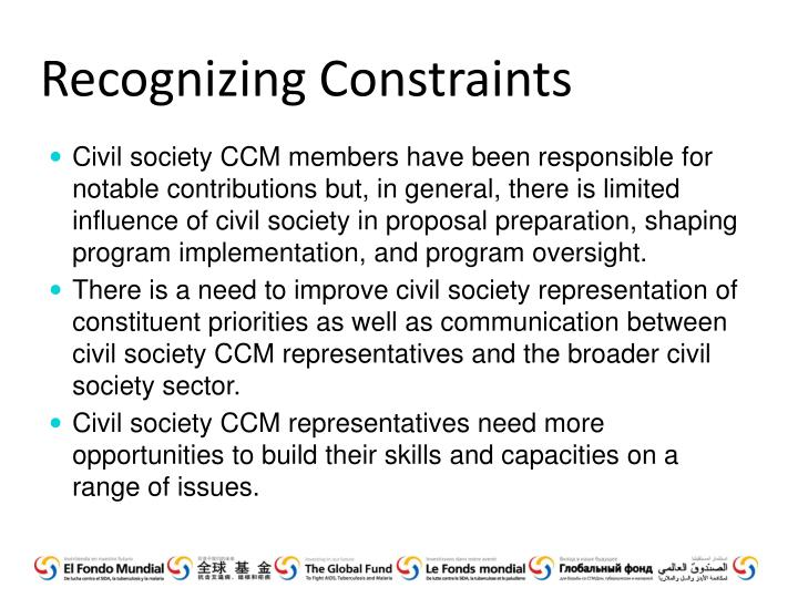 Recognizing Constraints