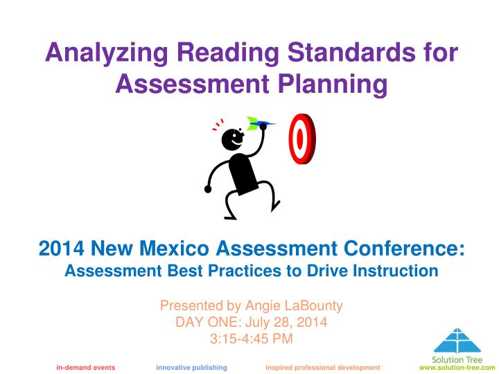 analyze the purpose of an assessment Creating your comprehensive assessment plan •the purpose of an assessment plan analyze data, and summarize.