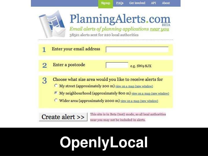 OpenlyLocal
