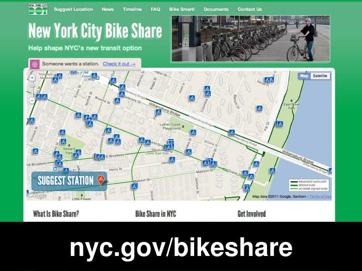 nyc.gov/bikeshare