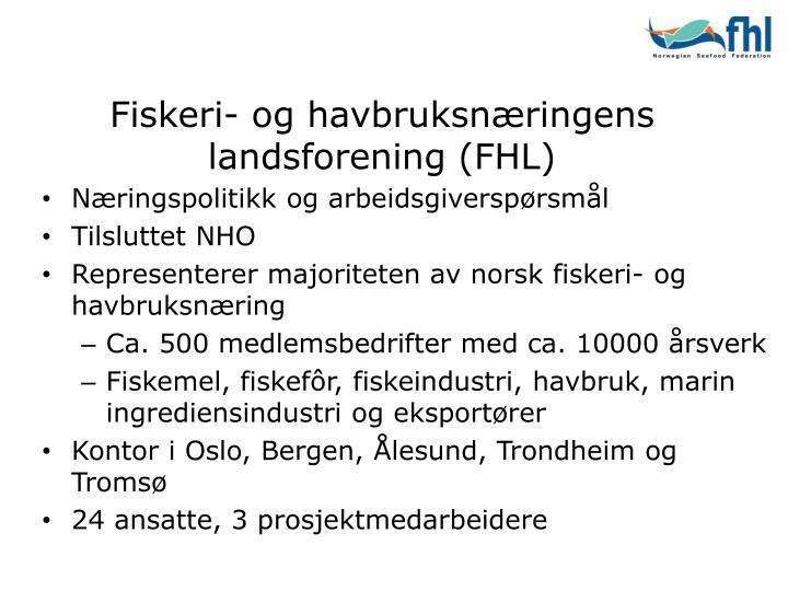 Fiskeri og havbruksn ringens landsforening fhl