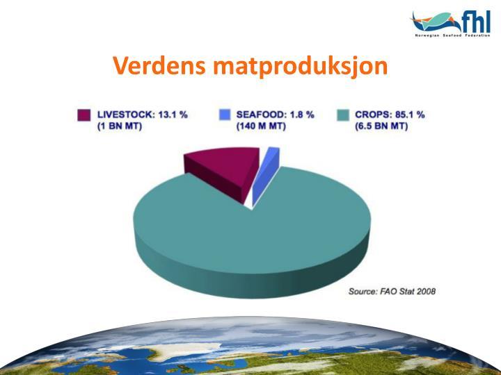Verdens matproduksjon