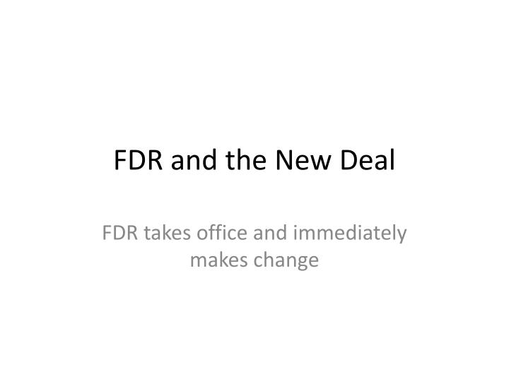 fdr s new deal inspired by relief Do you need a complete lesson that covers the extraordinary response to the d.