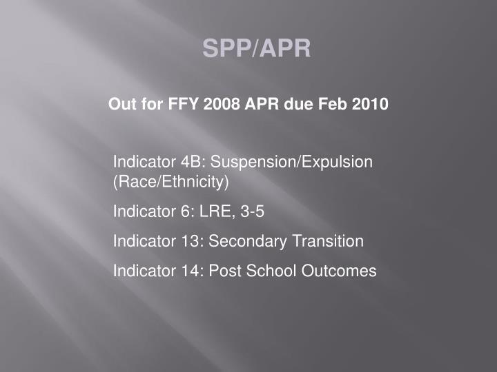 SPP/APR