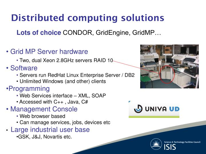 Distributed computing solutions