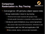 comparison rasterization vs ray tracing2