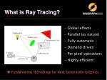 what is ray tracing11