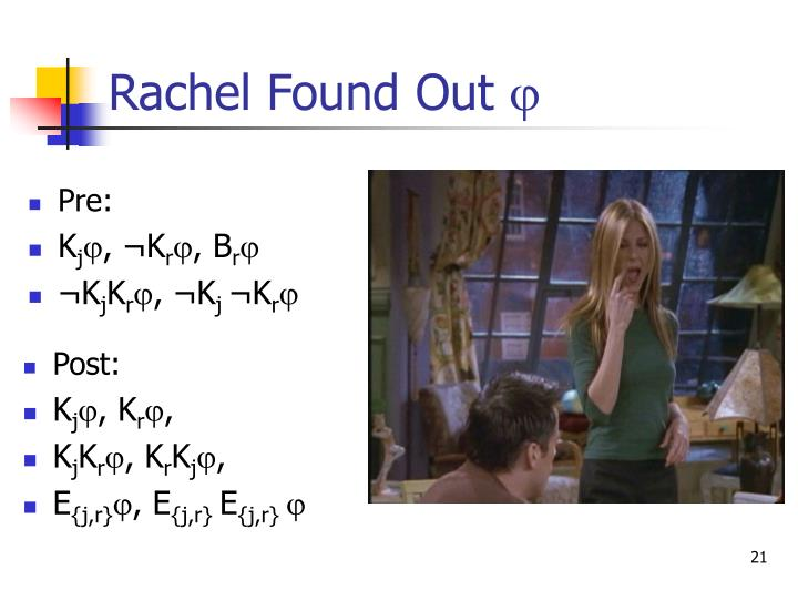 Rachel Found Out