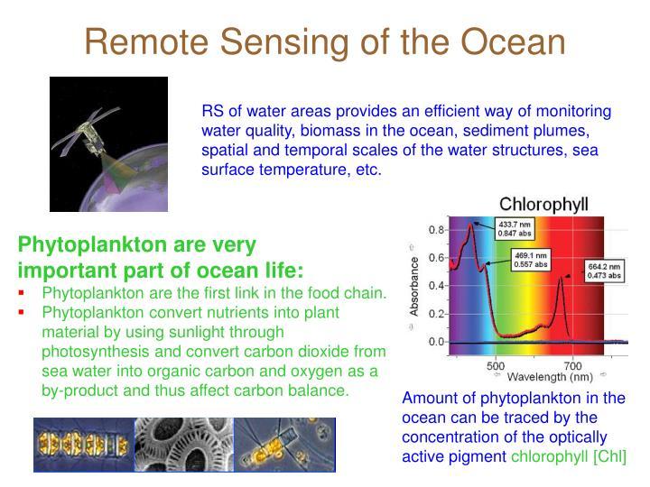 Remote Sensing of the Ocean