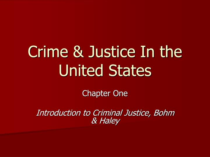 an introduction to the importance of dna technology in our criminal justice system This report,criminal justice, new technology, and the constitution, looks at new technologies used for investigation, apprehension, and confinement of offenders, and their effects on the constitutional protection of these rights.