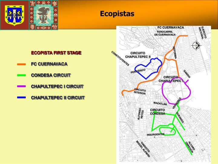 ECOPISTA FIRST STAGE