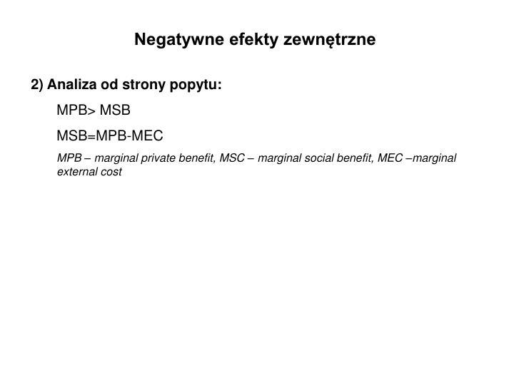 Negatywne efekty zewnętrzne