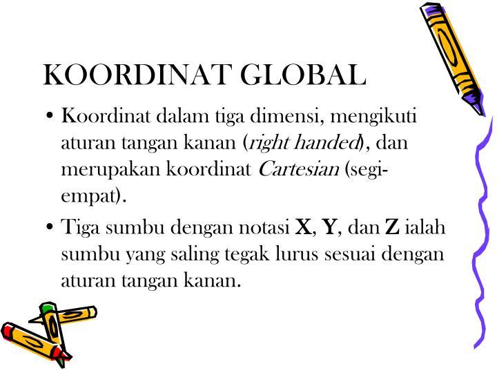 KOORDINAT GLOBAL