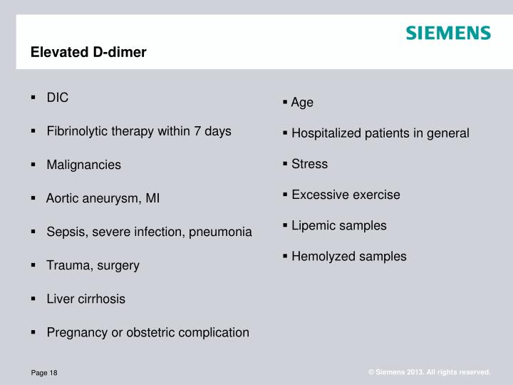 PPT - The Clinical Utility of D-dimer Assays PowerPoint ...