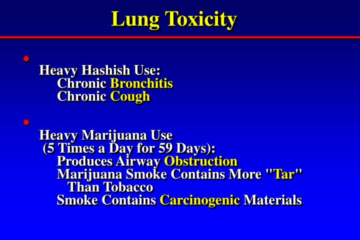 Lung Toxicity
