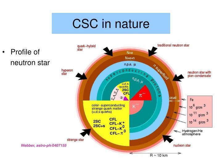 CSC in nature