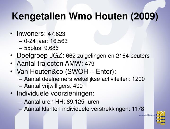Kengetallen Wmo Houten (2009)