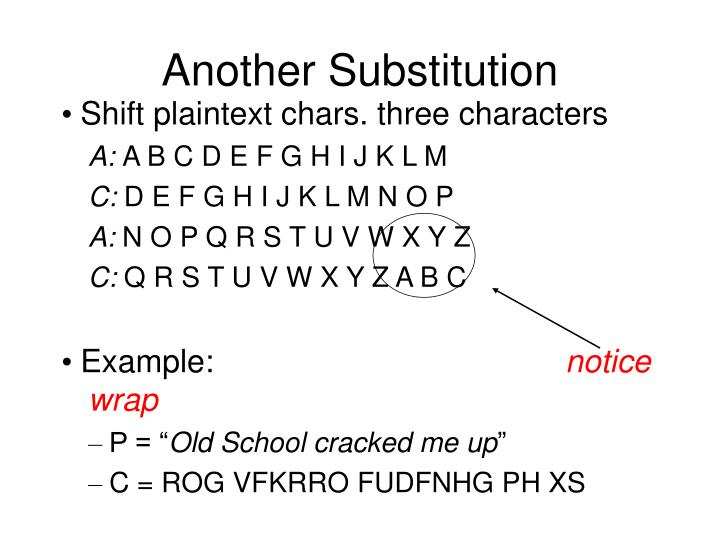 Another substitution1