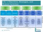 cil s objectives strategies and related activities