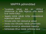 mappa p him tted