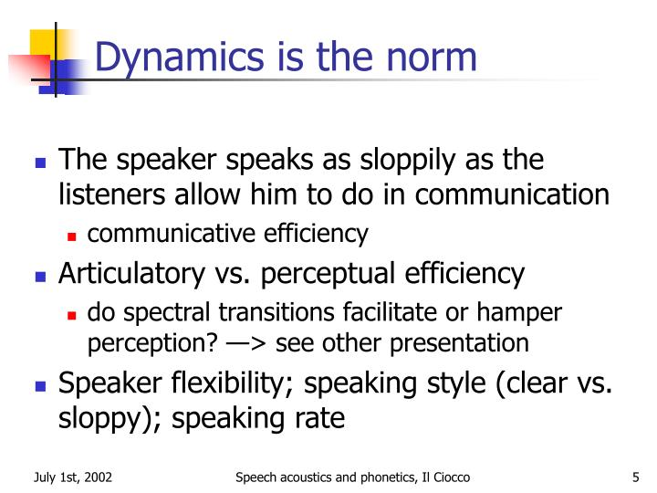 the acoustics of speech in individuals Acoustics, information, and communication and underwater acoustics to transducers, speech signal processing free shipping for individuals worldwide.