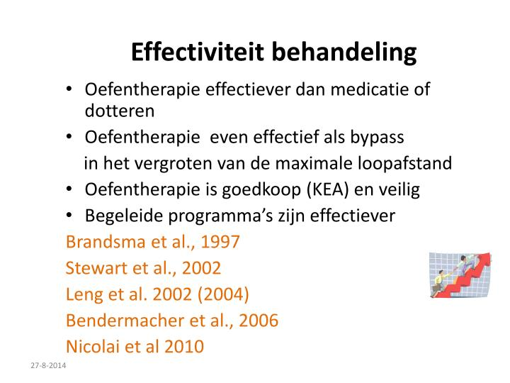 Effectiviteit behandeling
