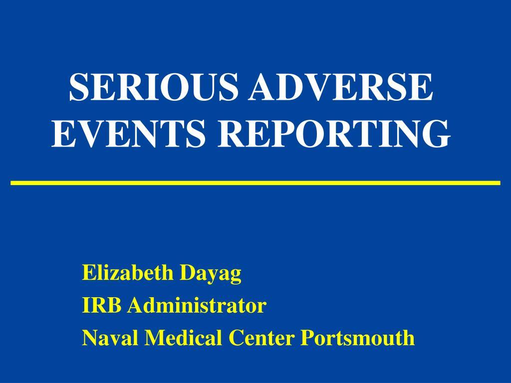 Adverse event ppt atul.