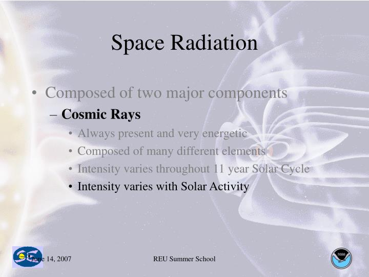 Space Radiation