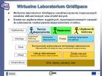 wirtualne laboratorium gridspace