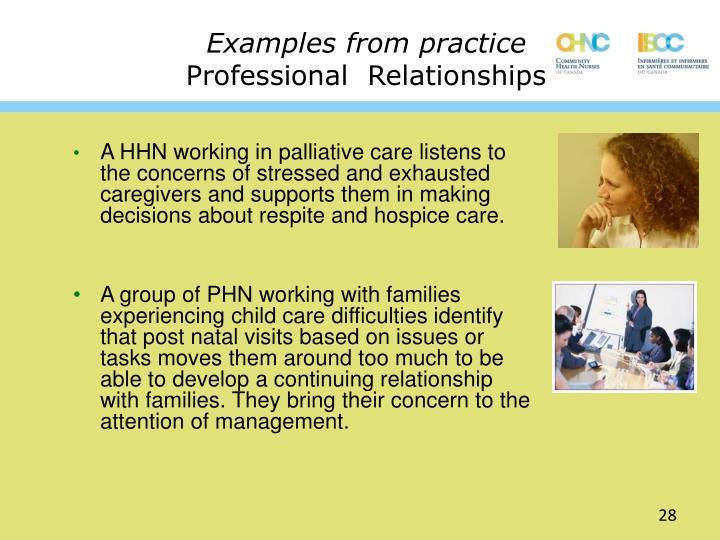 ppt canadian community health nursing standards of practice cchn