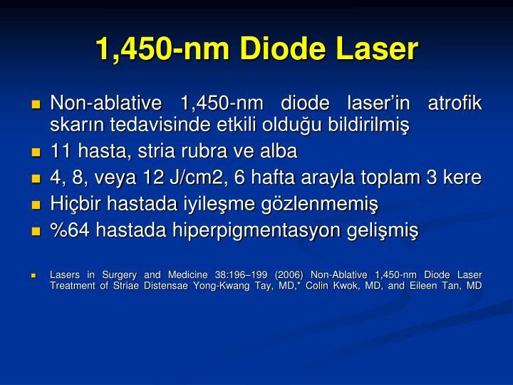 1,450-nm Diode Laser