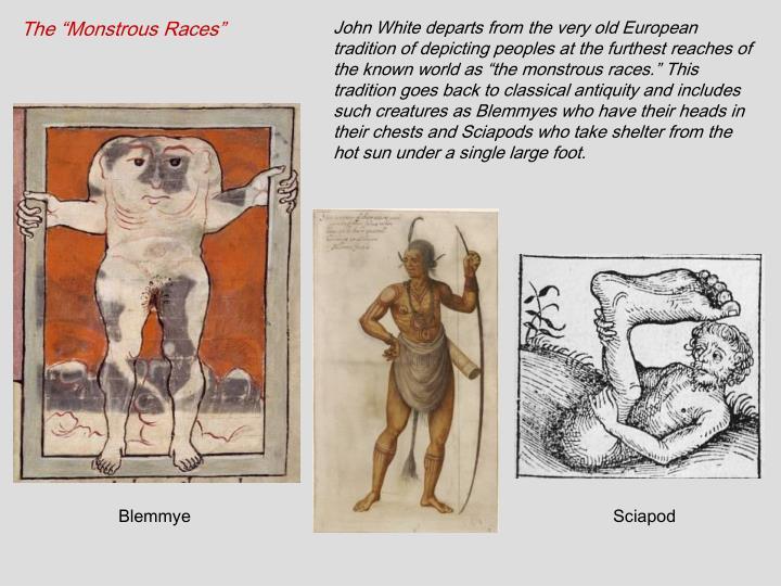 """The """"Monstrous Races"""""""