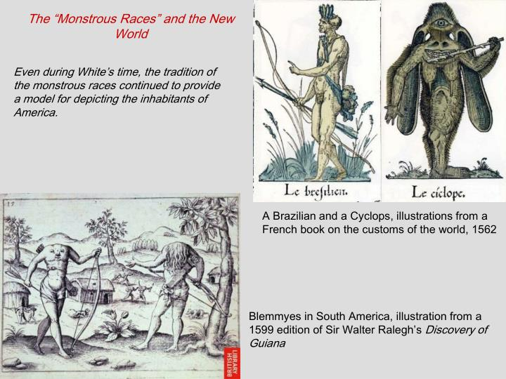 """The """"Monstrous Races"""" and the New World"""