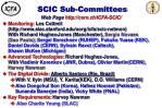 scic sub committees