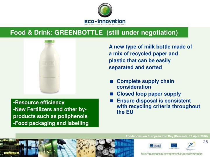 Ppt Eco Innovation Eaci European Commission Beatriz