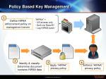 policy based key management