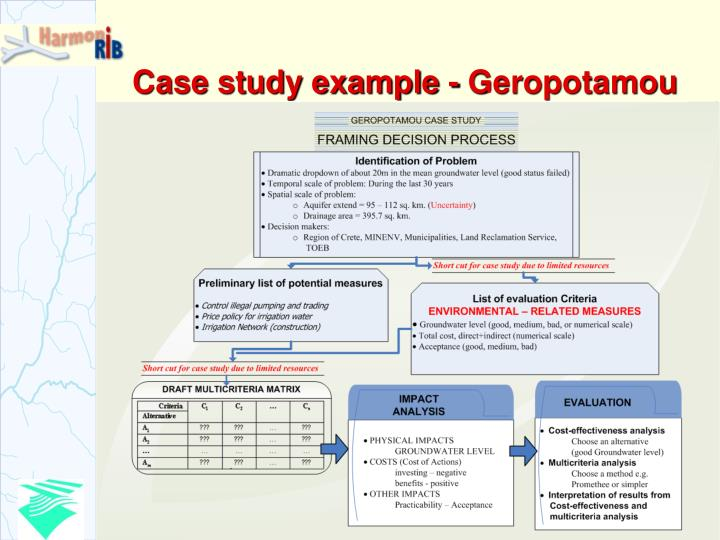 case analysis evaluation criteria
